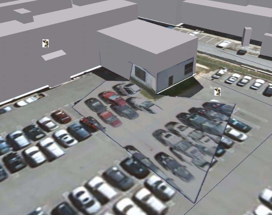– Some Emerging Application Areas Will-be-set-by-IN-TECH Fig. 4. Recreated 3D scene viewed with 3D buildings on