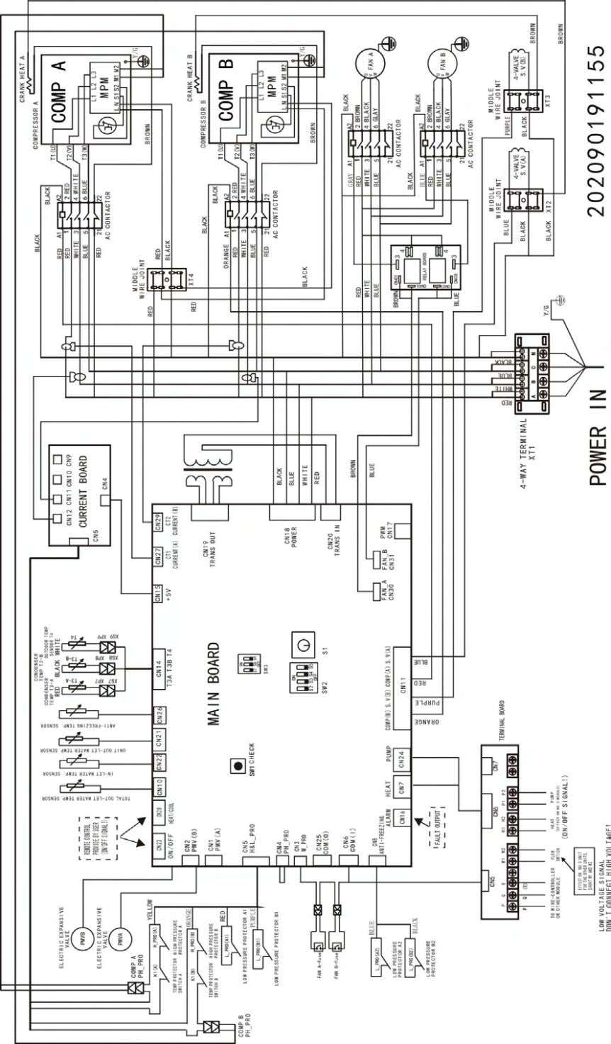 Aqua Tempo Super Series air cooled scroll chiller unit (50Hz) MCAC-ATSM-2013-05 130kW module 18 Wiring Diagrams