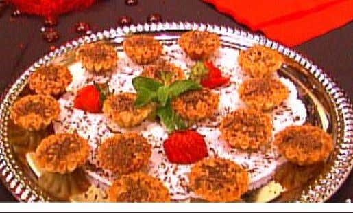 "Lisa's Dessert ""Naughty Nuts"" 1 cup Karo Syrup 3 eggs 1/2 cup plus about 2 tbsp"