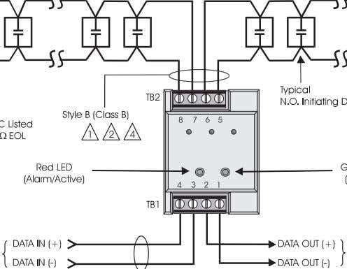 6) This module will NOT support 2-wire smoke detectors.