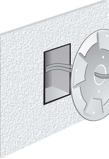 not affected by the guard   Finish White enamel INSTALLATION SHEET: SIGA-DG Detector Guard