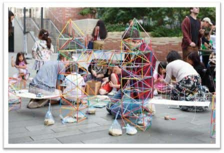 "DID FAMILIES THINK OF THE EVENTS? ""creative messy fun!"" ""One of the few events that can"