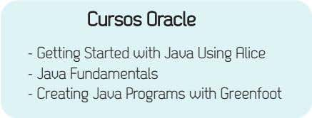 Cursos Oracle - Getting Started with Java Using Alice - Java Fundamentals - Creating Java