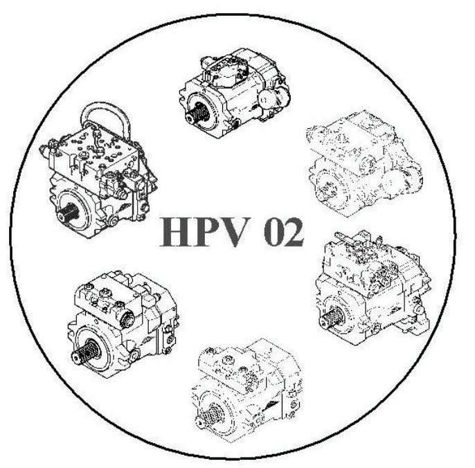 Hydraulic Service Information # E 102/03 E Variable pump HPV-02 Advancements