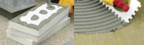Selection of suitable insulation materials and systemsV A comparison of technological and building properties of foamed
