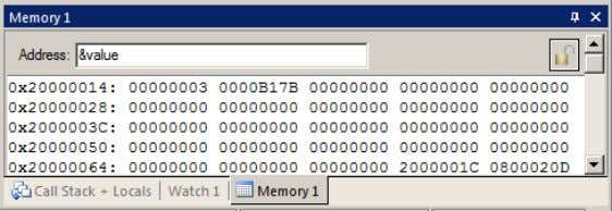 mouse cursor over the data field and select Modify Memory. TIP: No CPU cycles are used