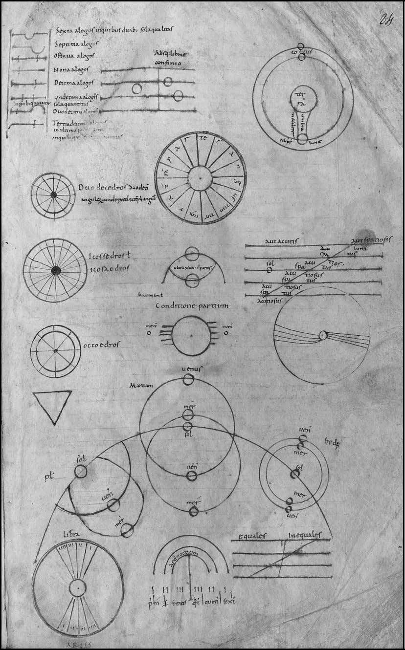 THE POWER OF DIAGRAMS 213 Fig. 7. A set of astronomical diagrams found in Paris, Bibliothèque