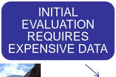 INITIAL EVALUATION REQUIRES EXPENSIVE DATA