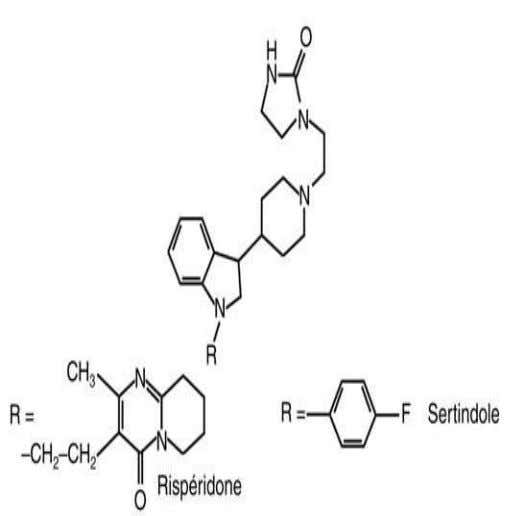atypiques : • • • imidazolidinones (sertindole). 14 III. Les NL structure et classification :
