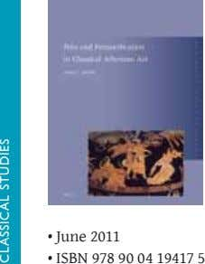 • June 2011 • ISBN 978 90 04 19417 5 classical studies