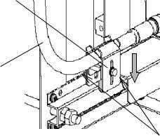 MOUNTING BRACKET COAXIAL CABLE ODU TIGHTEN BOLTS (M5) Step 4. Connect the Coaxial cable to the