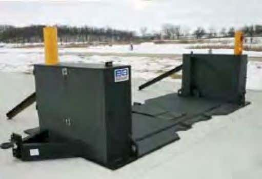 Barrier (Example 2) Figure 6-3 Portable Barrier (Example 3) Figure 6-4 Maximum Security Vehicle Arrest Barrier