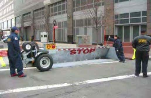 (Example 2) Figure 6-3 Portable Barrier (Example 3) Figure 6-4 Maximum Security Vehicle Arrest Barrier (Example