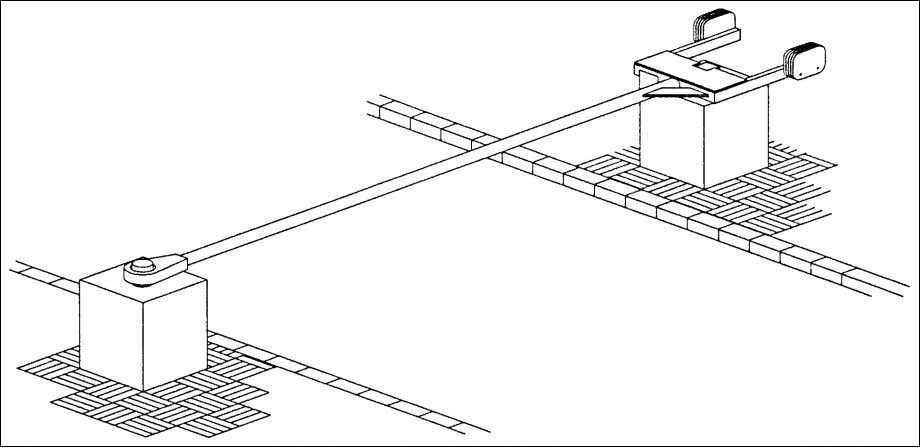 paragraph, 5.2.9, for specific operation requirements for crash beam systems. Figure 6-8 Cable-Reinforced Crash Beams 47