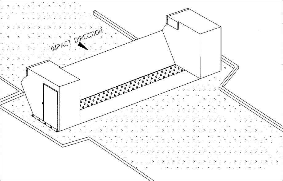 Figure 6-10 Example MSB Vehicle Barrier (Lift Plate Barricade System) Figure 6-11 Second Example MSB Vehicle