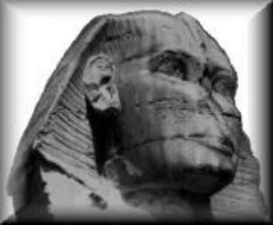and part of the lips are gone from the great Sphinx forever! The Sphinx is only