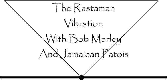The Rastaman Vibration With Bob Marley And Jamaican Patois