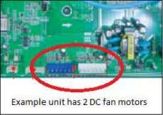 motor is causing the issue and replace  If the error still does not go away,