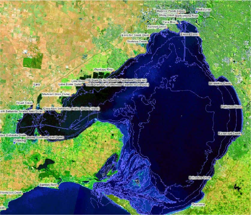 B 8 Appendices Appendix A: Major waterway outfalls into Port Phillip Bay Group 202_Project B_Final.doc Page