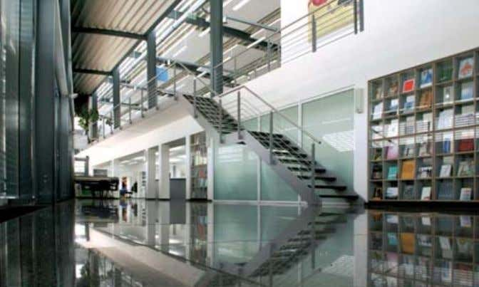 in combination with thermo-active building systems and PCMs Fig. 18 Engelhardt & Bauer printing house in