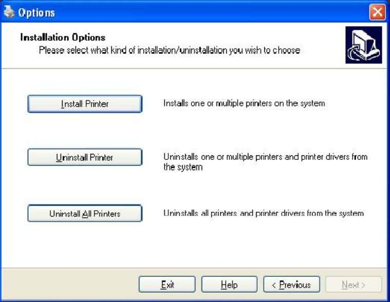 Once the download has completed, extract the files using Winzip and select Install Printer. Choose the