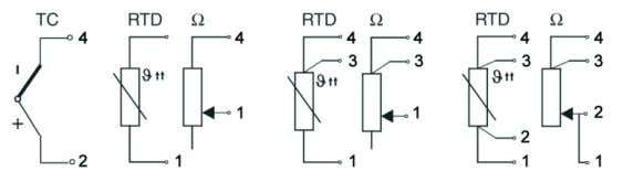 - 7.5 to 45VDC 4 to 20 mA + mA 2-wire 3-wire 4-wire Dimensions Dimensions in