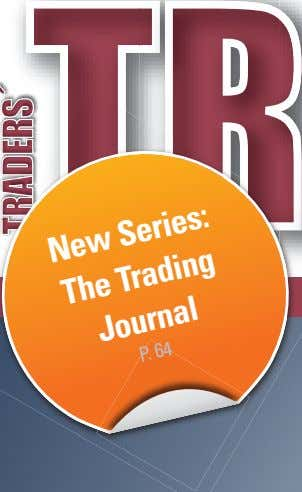 New Series: The Trading Journal P. 64