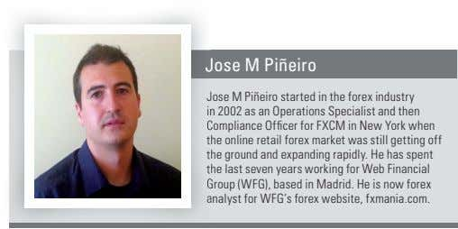 Jose J M Piñeiro Jose J M Piñeiro started in the forex industry in i