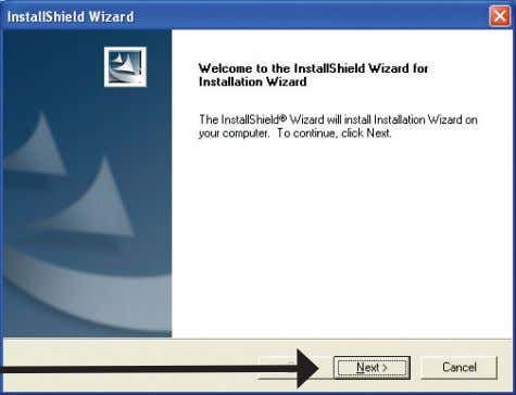 does start, proceed to the next screen. Click on Installation Wizard Click Next  D-Link DCS-340