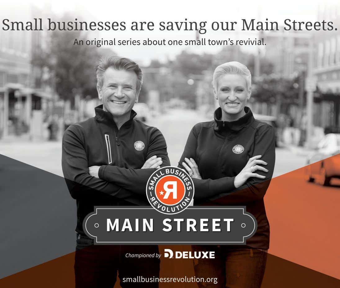 Amanda Brinkman Chief Brand and Communications Officer, Deluxe Corporation Robert Herjavec Business Entrepreneur, The