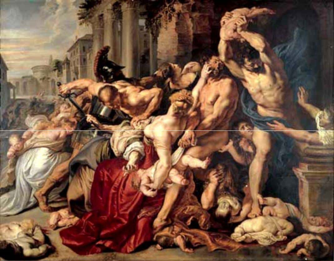 Rubens – Le Massacre des Saints Innocents