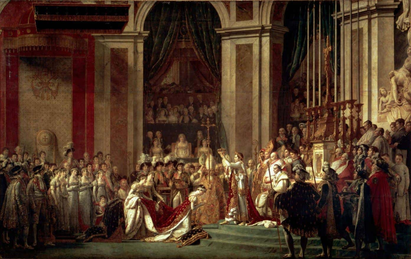 Jacques-Louis David – Le Sacre de Napoléon