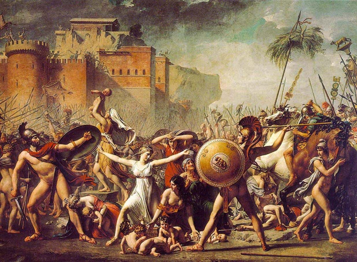 Jacques-Louis David – Les Sabines