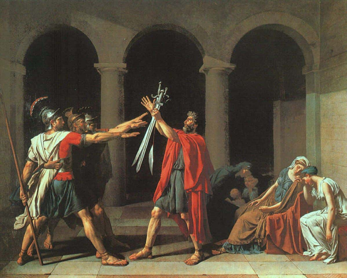 Jacques-Louis David – Le Serment des Horace