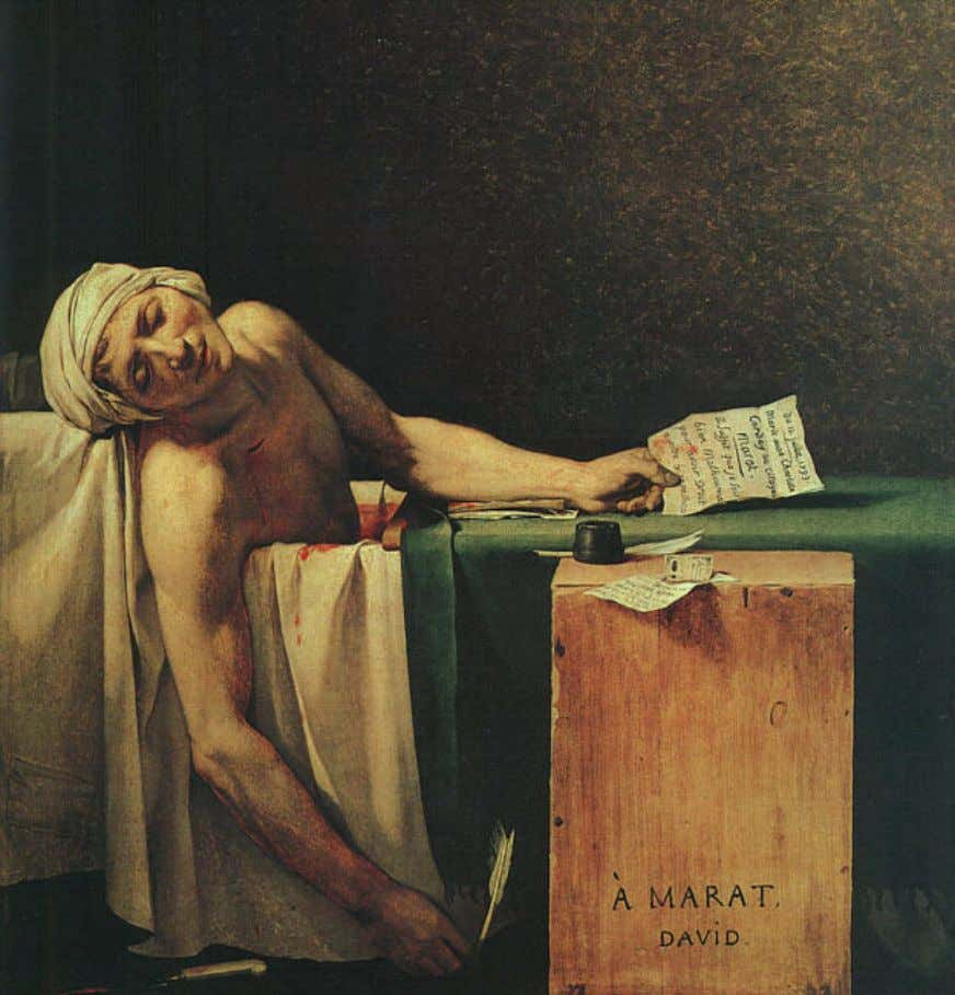 Jacques-Louis David – La Mort de Marat
