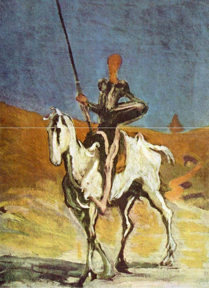 Daumier – Don Quichotte