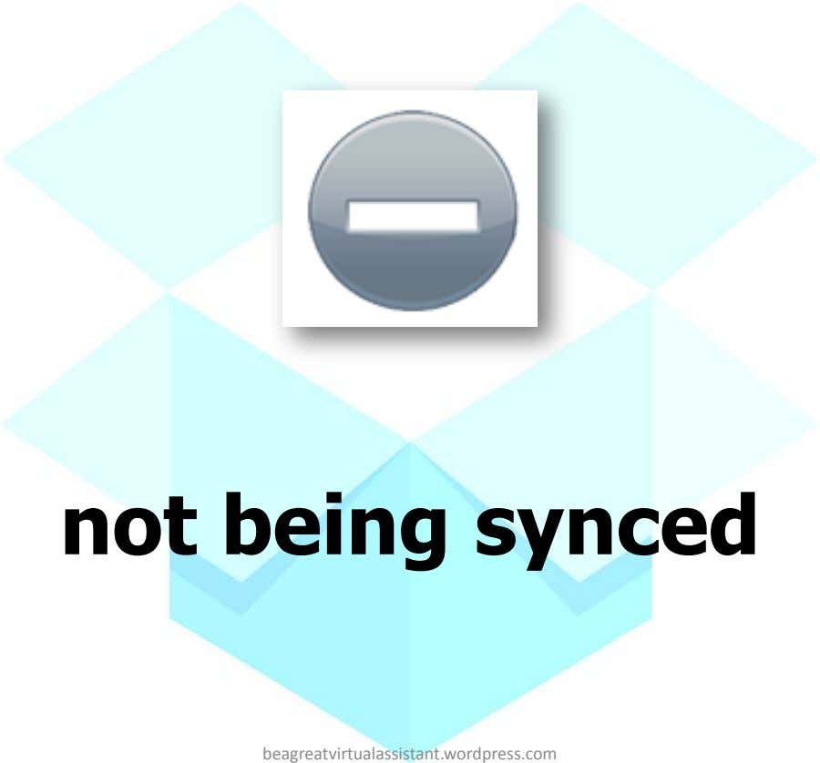 not being synced beagreatvirtualassistant.wordpress.com