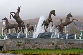 of sculptures located in Ashgabat . Monument in Ashgabat See also Monument in International Equestrian Sports