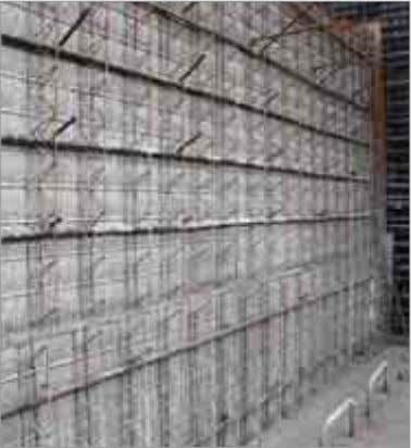 Distance of the formwork Reinforcing bar Concrete cover Stremaform ® Strong Stremaform ® Strong with indented