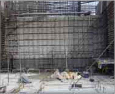 elements remain in the concrete and reinforcement layout is unaffected. Technologies for the construction industr y