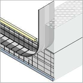 cover 1. pour Stremaform ® with rubber water bar cage Transition base slab / wall Technologies