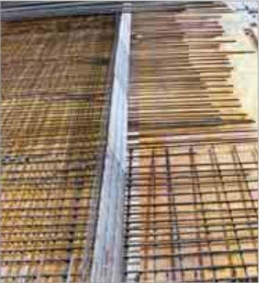 Distance of the formwork Reinforcing bar Concrete cover 1 2 ■ Economically priced formwork elements with