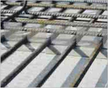 of concrete covers are available. ■ Suitable for slabs with very heavy reinforcement. 20 Distance of