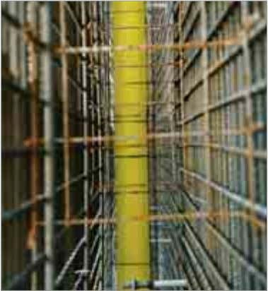 Distance of the formwork Reinforcing bar Concrete cover min. d d/3 Depending upon their individual design,
