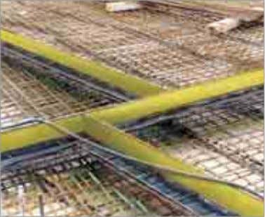 Distance of the formwork Reinforcing bar Concrete cover ■ Both Stremaform ® and Strema fl ex