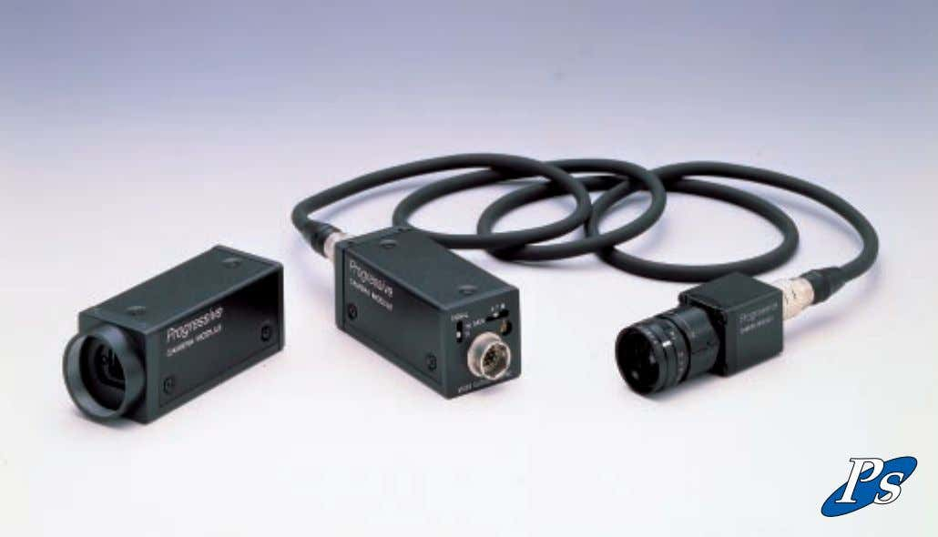 SCAN CAMERA MODULE XC-55 (One piece) XC-55BB (Remote head) OUTLINE The ultra-compact XC-55 and XC-55BB monochrome