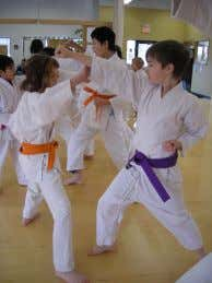 "Sensei at the Center and teaches Karate throughout the week. A defensive demonstration ""In a nutshell,"