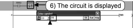 6) The circuit is displayed