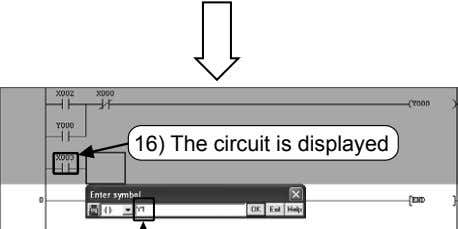 16) The circuit is displayed