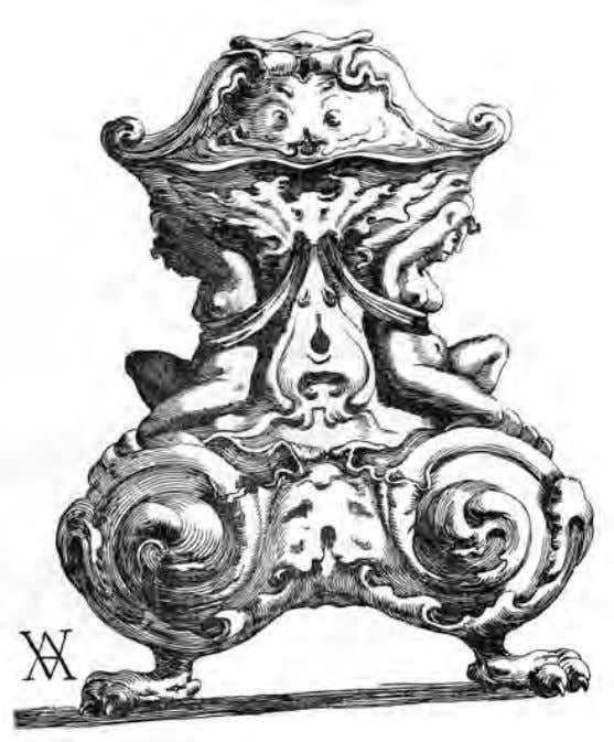 Fig. 2 . Unknown craftsman, Saltcellar , silver. Photo: From Johan Willem Frederiks, Dutch Silver